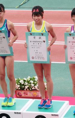 陸上競技部 国民体育大会で3位に入賞!
